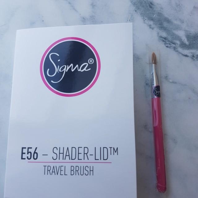Brand new Sigma travel brush