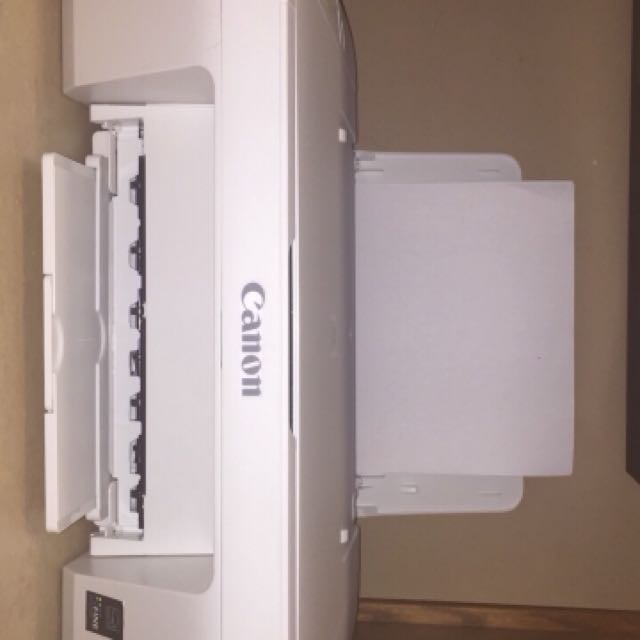 BRAND NEW WIRELESS CANON PRINTER WITH INK AND PAPER