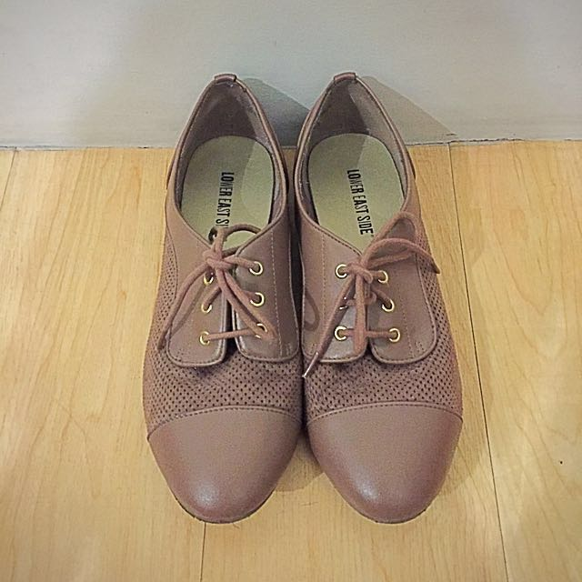 Brown Casual Oxfords
