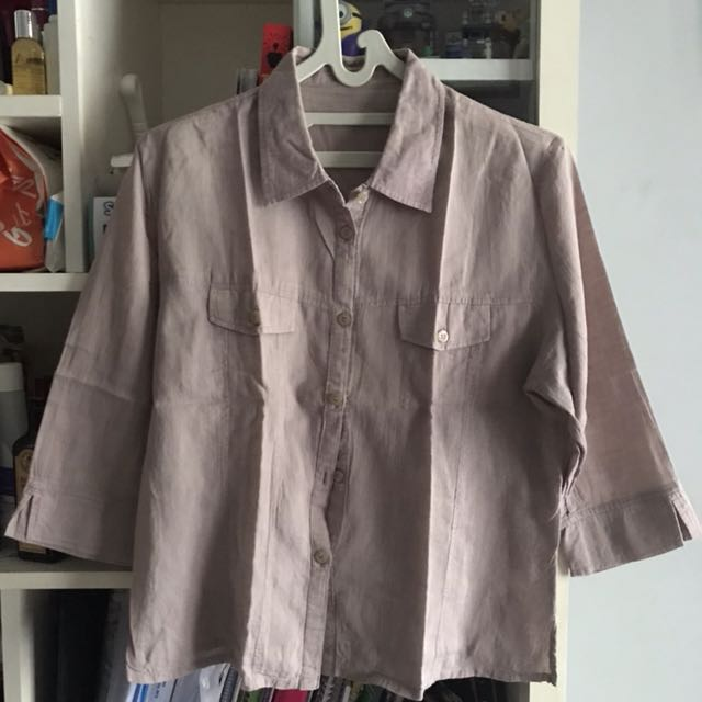 Brownish Grey Shirt