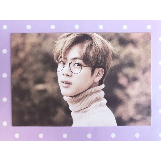 BTS '2nd Muster' Jin #3 Photocard
