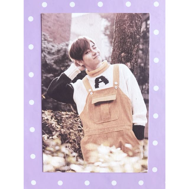BTS '2nd Muster' V #7 Photocard