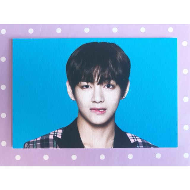 BTS 'Wings Tour' V #2 Photocard (First Press)