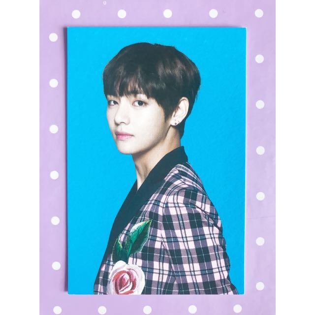 BTS 'Wings Tour' V #3 Photocard (First Press)