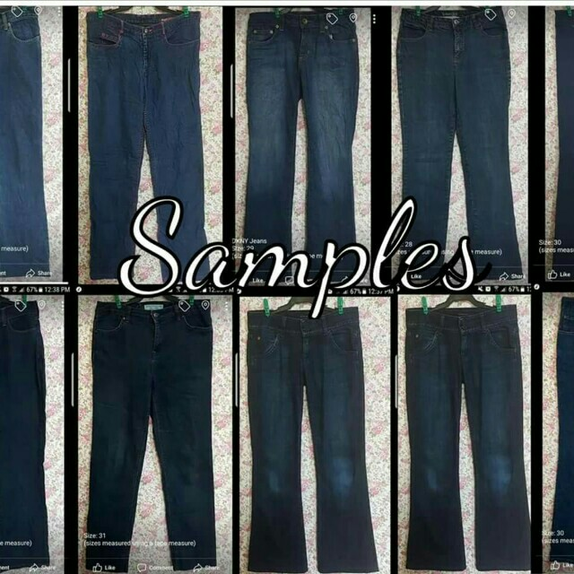 *BUNDLES* US Branded Ladies Denim Pants