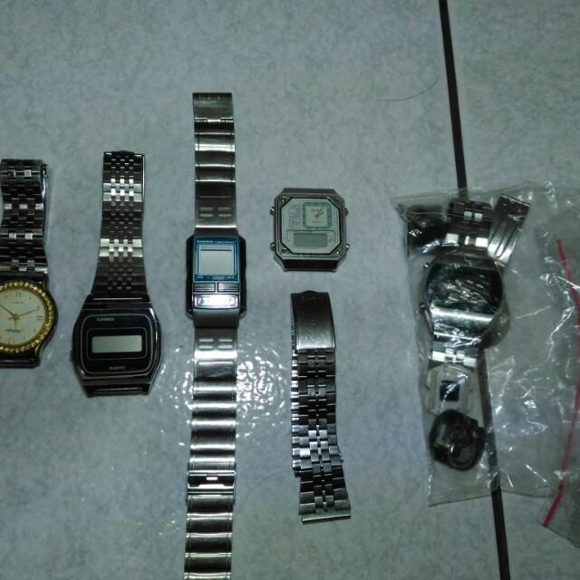 casio alba 亞柏 手錶零件 電子錶 石英錶