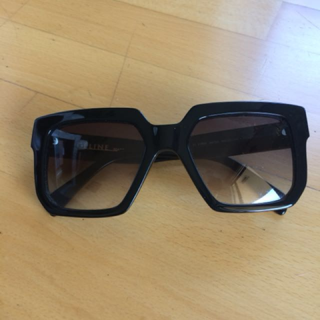 Celine black frame sunglasses