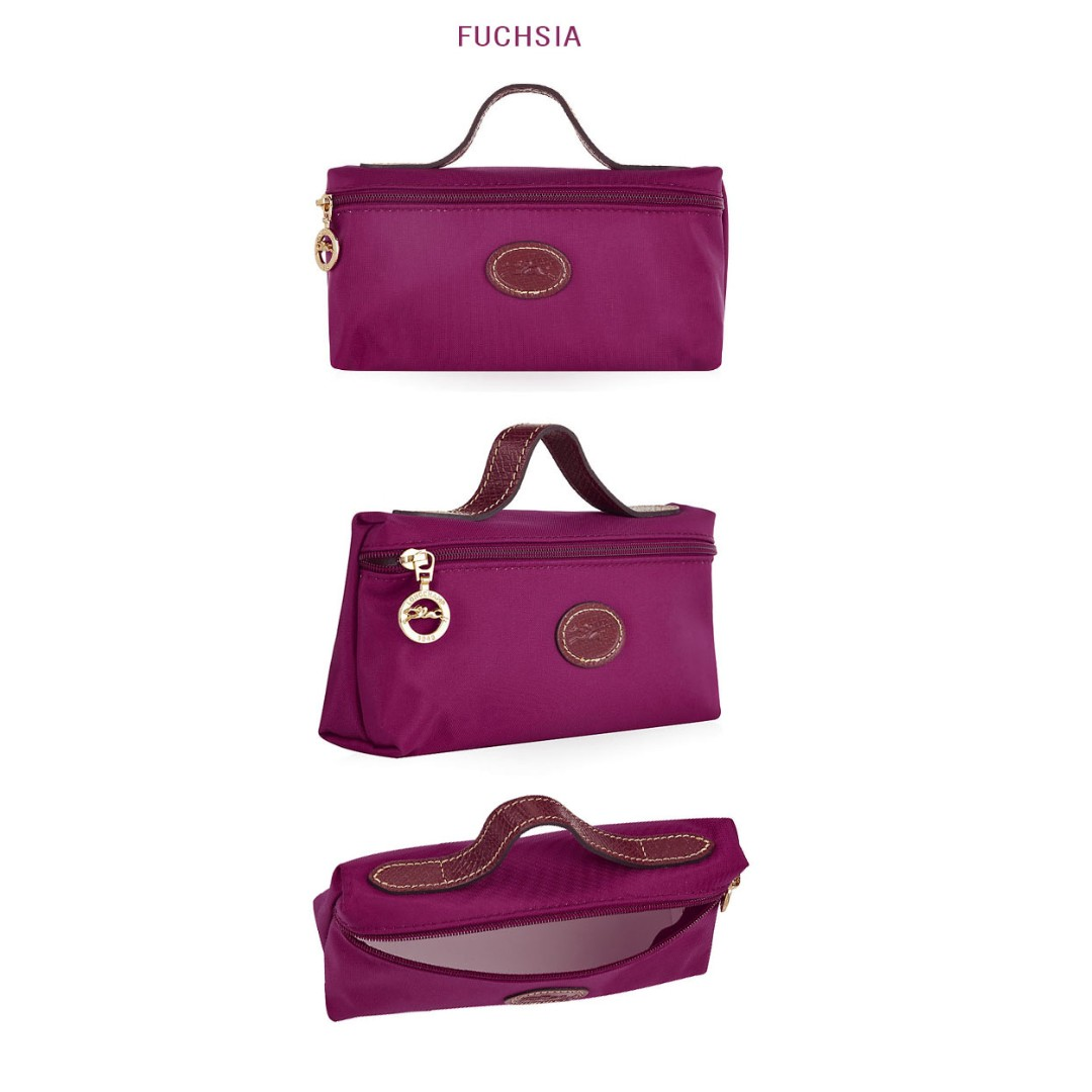 Longchamp Le Pliage 3700089 Clutch Cosmetic Bag, Luxury, Bags \u0026 Wallets on  Carousell