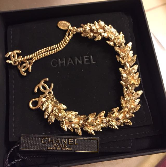 Coco Chanel crystal bracelet