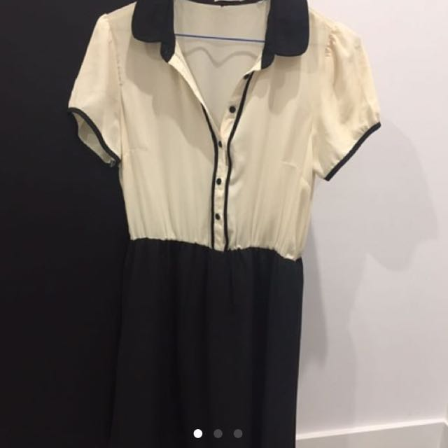 Collared Work Dress - Size Small
