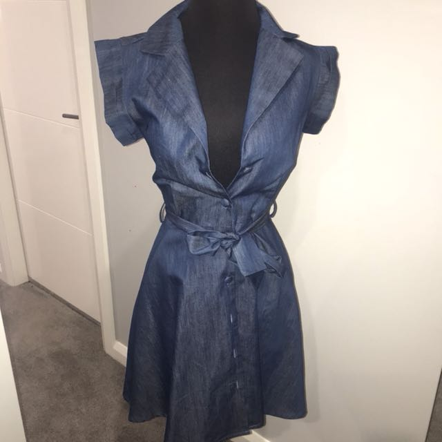 DANGERFIELD Denim Dress