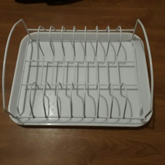Dish Drying Rack (White)