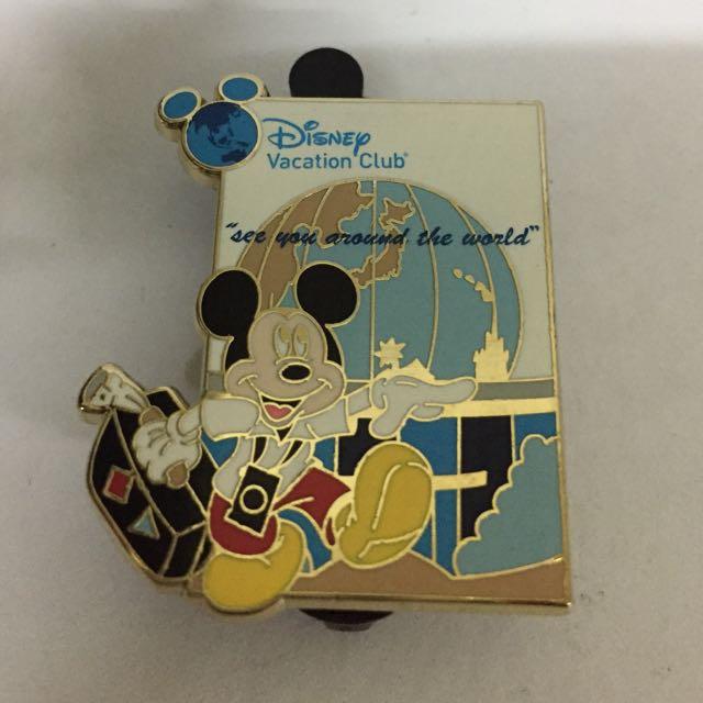 Disney Pin Trading Vacation Club Rare Vintage