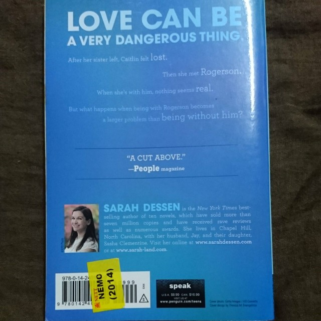 Dreamland By Sarah Dessen Books Stationery Books On Carousell