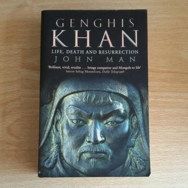 [Ed Bhs Inggris] Genghis Khan Life Death And Resurrection