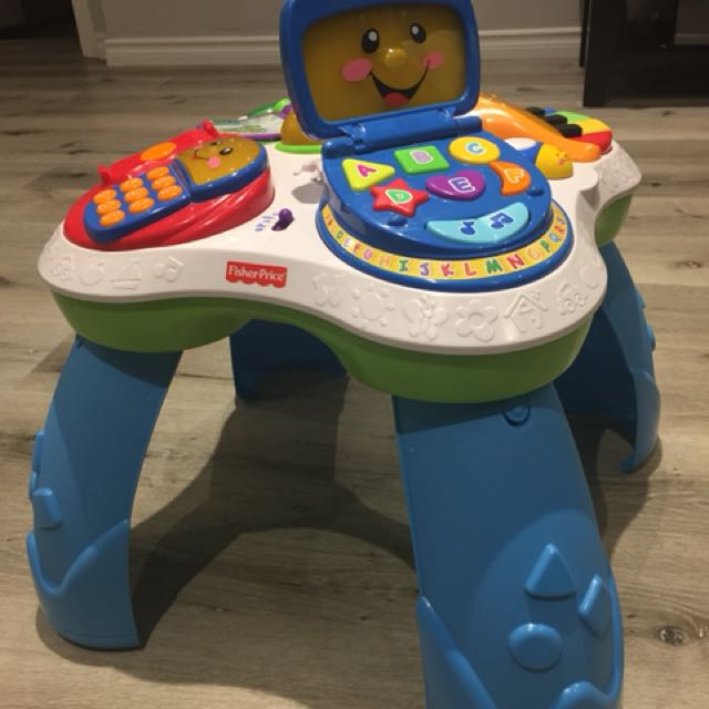 Fisher price sit and stand activity table