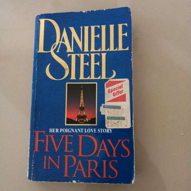 Book: Five Days in Paris by Danielle Steele
