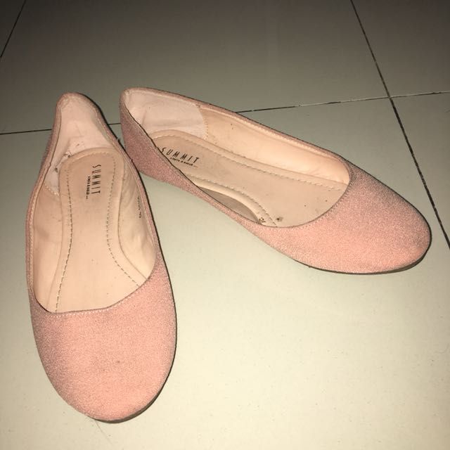 Flatshoes Summit Dusty Pink Size 40
