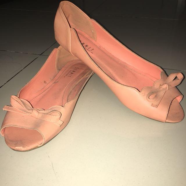 Flatshoes Summit Soft Pink Size 40