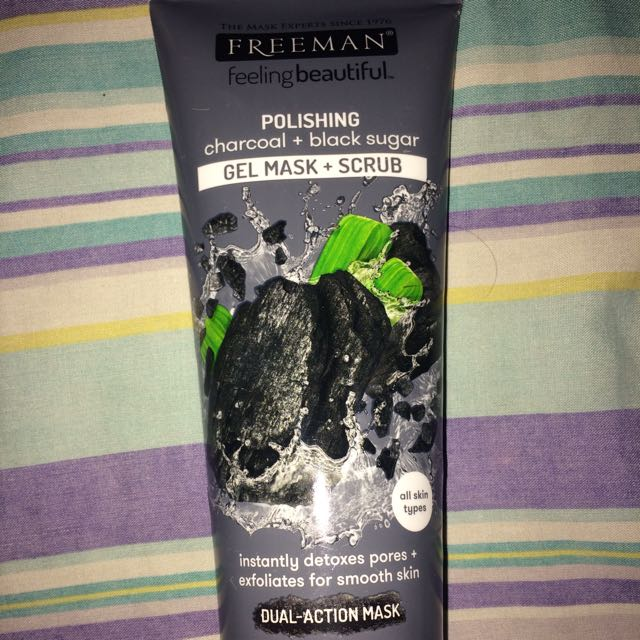 Freeman Charcoal + Black Sugar