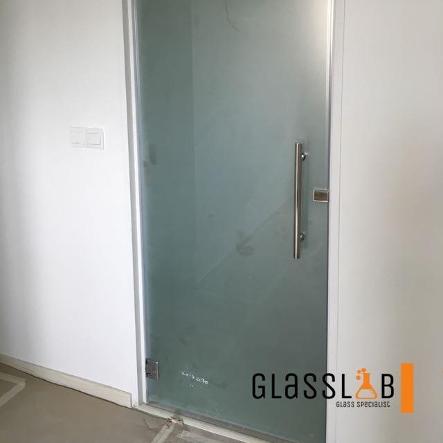 Tempered Glass Swing Door Singapore Glass Designs