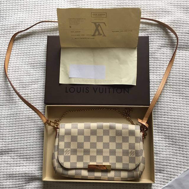 Genuine Louis Vuitton Favorite Azur