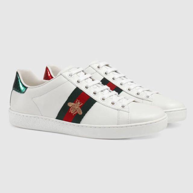 Gucci 蜜蜂鞋小白鞋男鞋