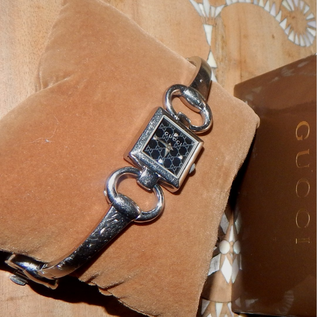 GUCCI horsebit bracelet watch