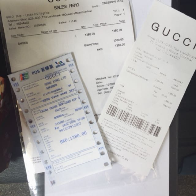GUCCI SHOES PRE ORDER FROM HK