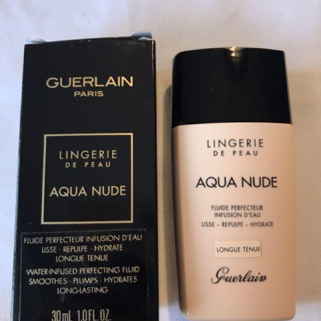 Guerlain aqua nude foundation