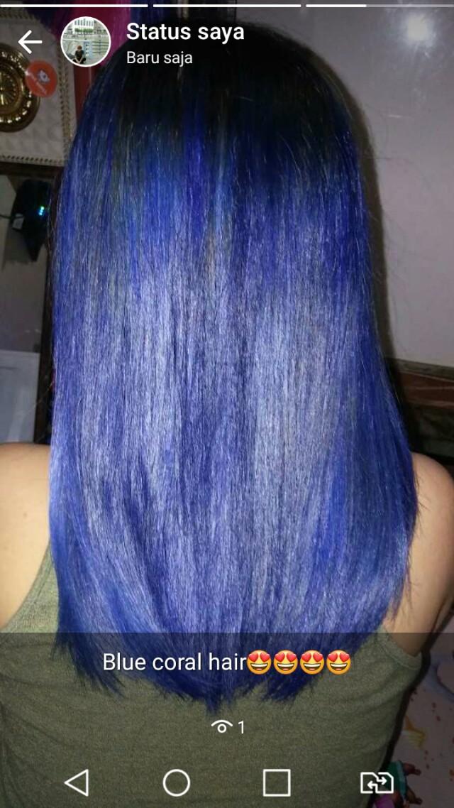 Hair coloring at home