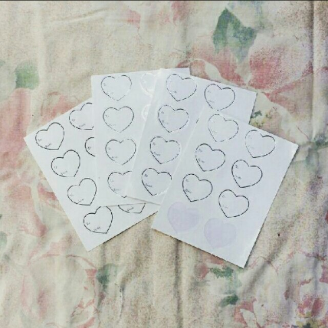 Heart Stickers (To & From)
