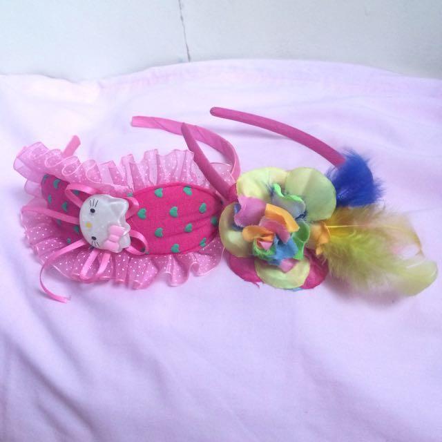 Hello Kitty & Rose Headband
