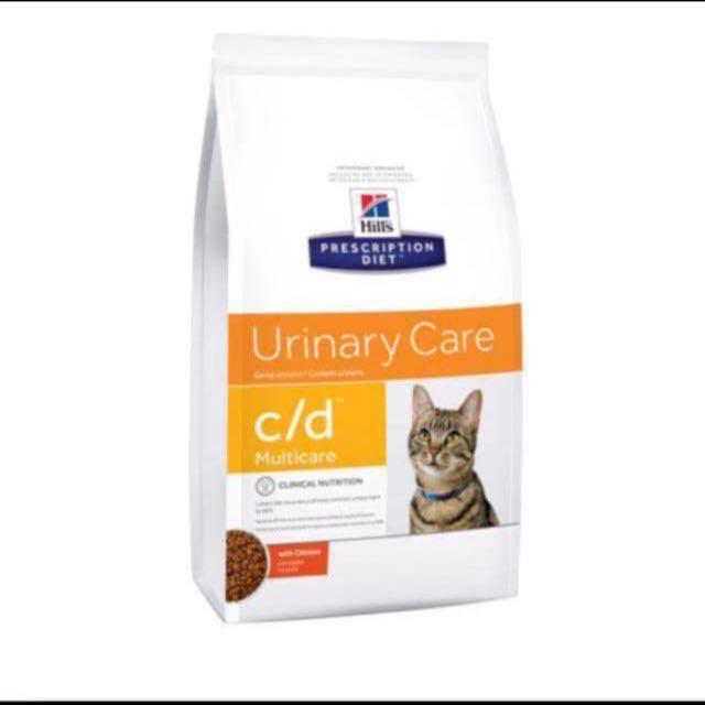 Hill Feline Urinary Care c/d Multicare for Cat 1.5kg Veterinary Diet