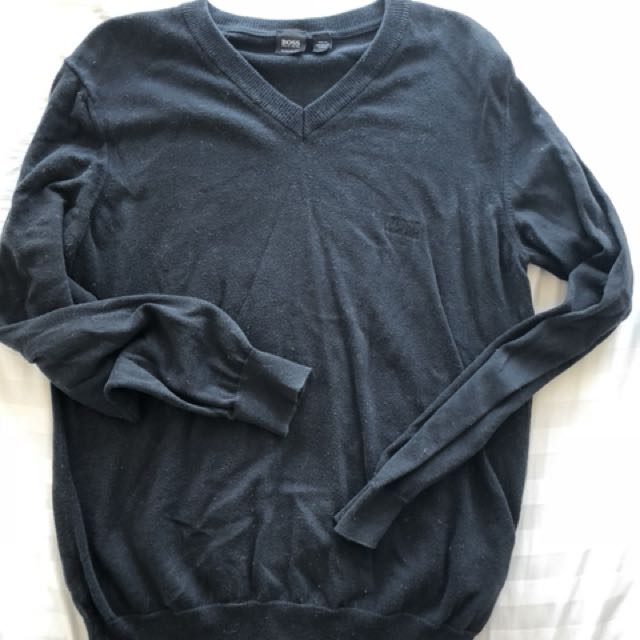 Hugo Boss black sweater