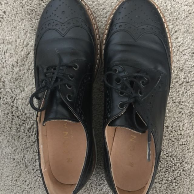 Jonak Leather Brogues FR36/EUR35/US5
