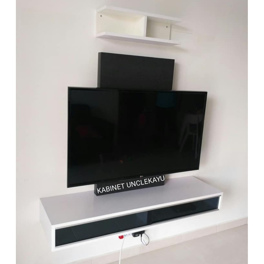 Kabinet Tv Simple Desainrumahid com