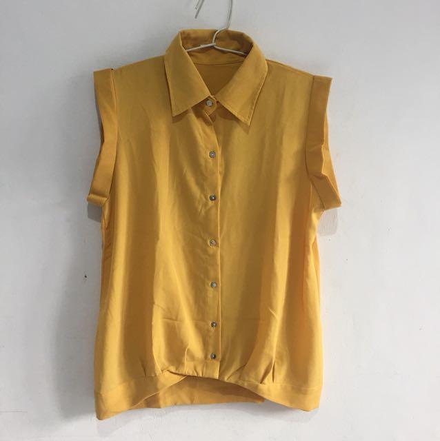 Kemeja kuning