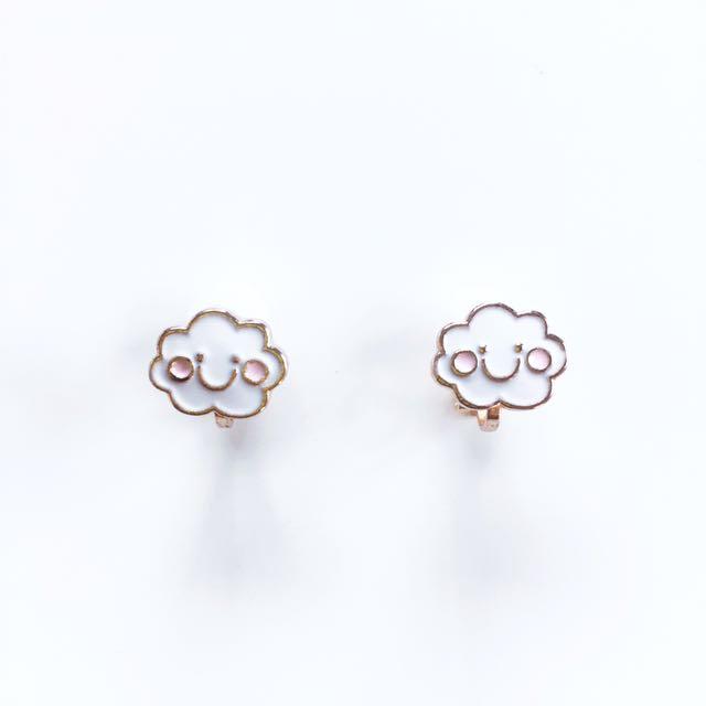 Kids clip on earrings