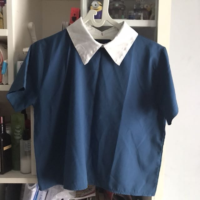 Korean Collar Top