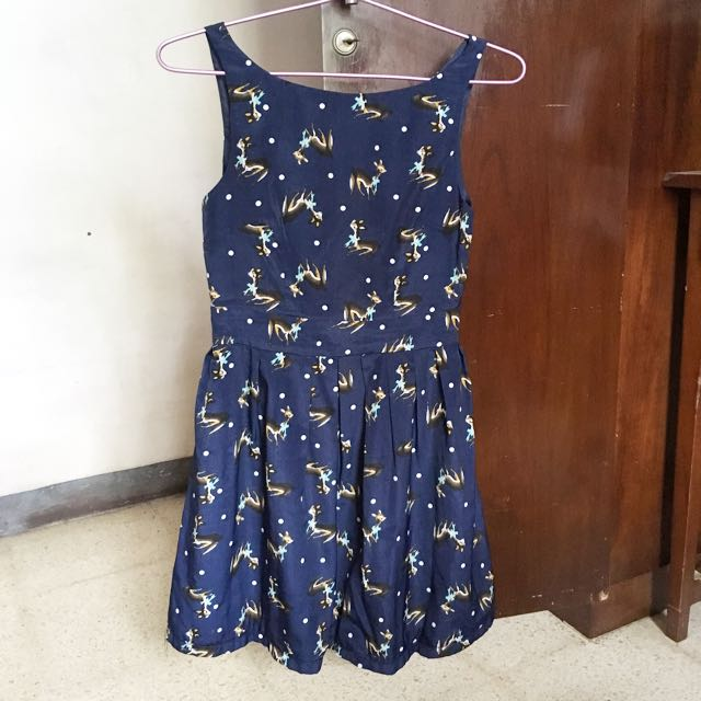 Love bonito dress navy