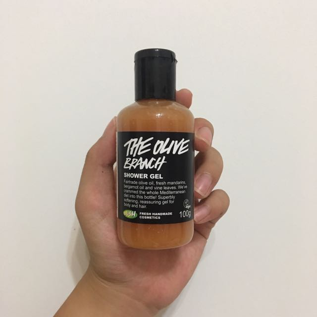 LUSH - SHOWER GEL (THE OLIVE BRANCH)