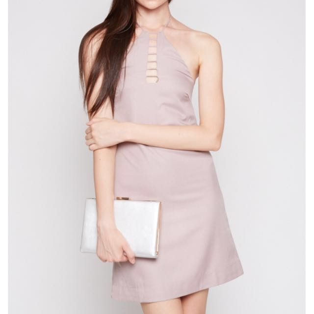 c901aacb9cd4 MDS Quine Dress In Mauve, Women's Fashion, Clothes, Dresses & Skirts ...