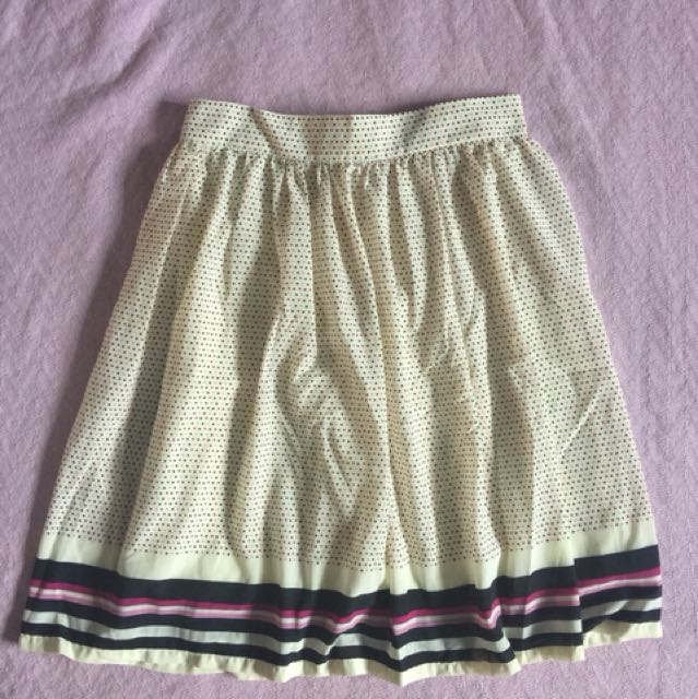 Meg Polka Dotted Skirt