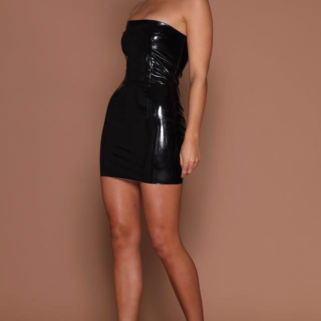 Meshki Boutique Black Dress (latex)