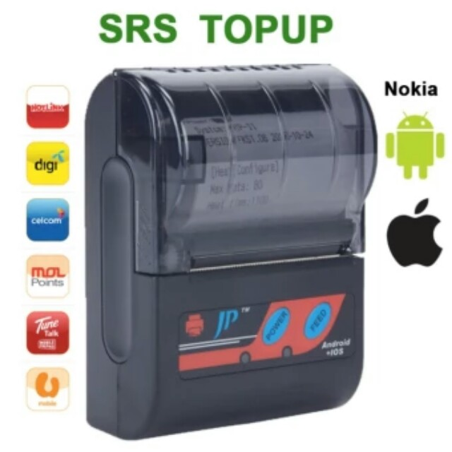 Mesin Printer TopUp SRS mobile