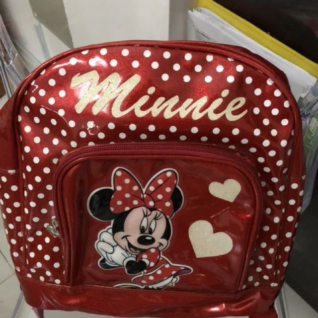 Minnie school bag (small size)