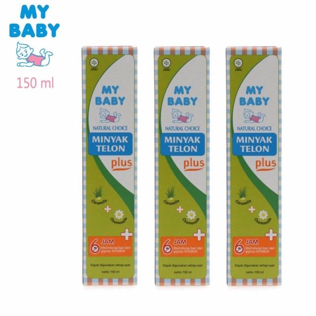 Minyak Telon My Baby Plus 150ml