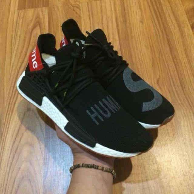 d4626f234f096 Mirror) Supreme x Pharrell Williams x Adidas NMD Human Race Black ...