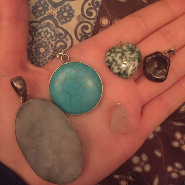 Mix Gemstone Pendant Lot